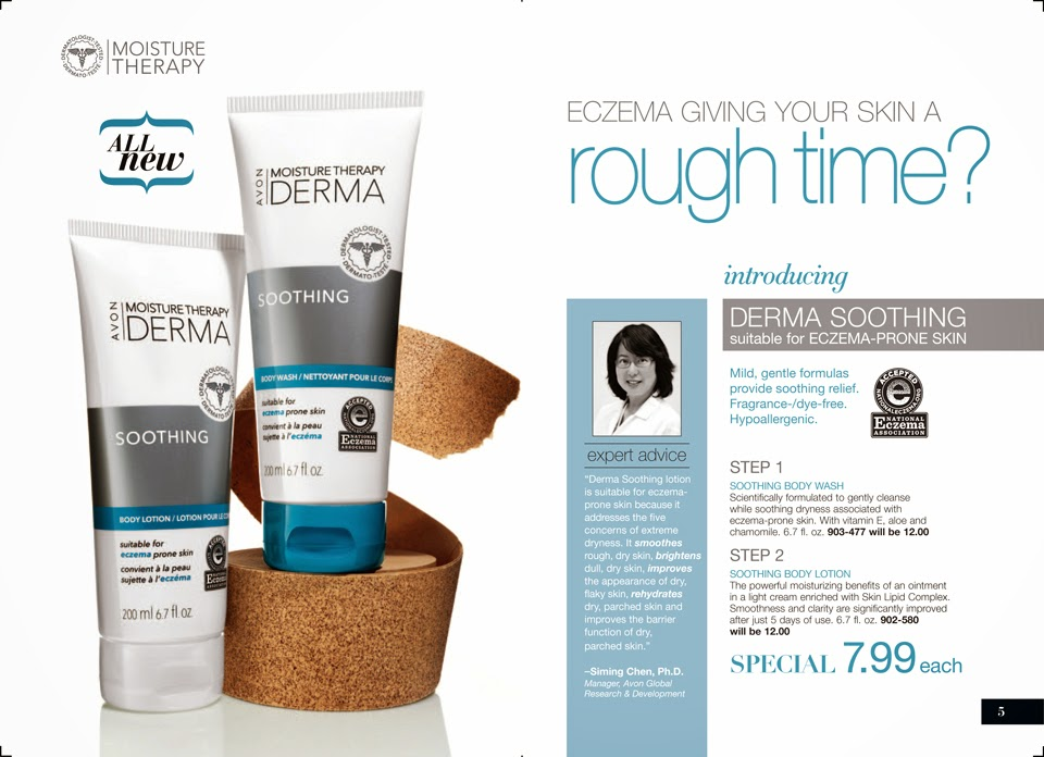 Avon Moisture Therapy Derma Soothing