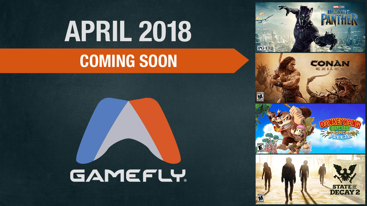 Coming Soon for April 2018