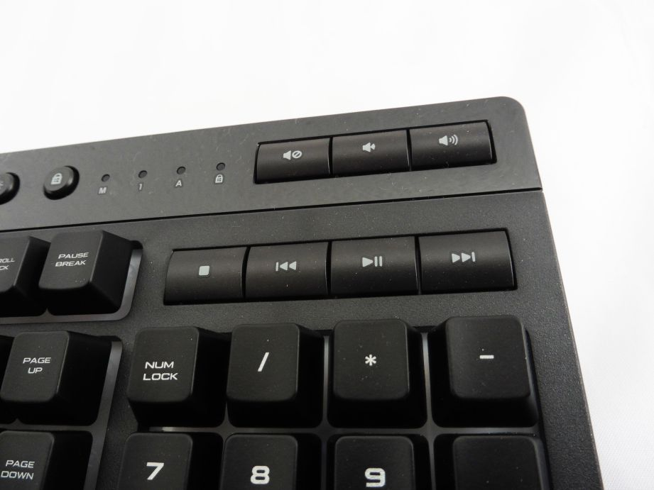 Corsair K55 RGB Gaming Keyboard Review 3