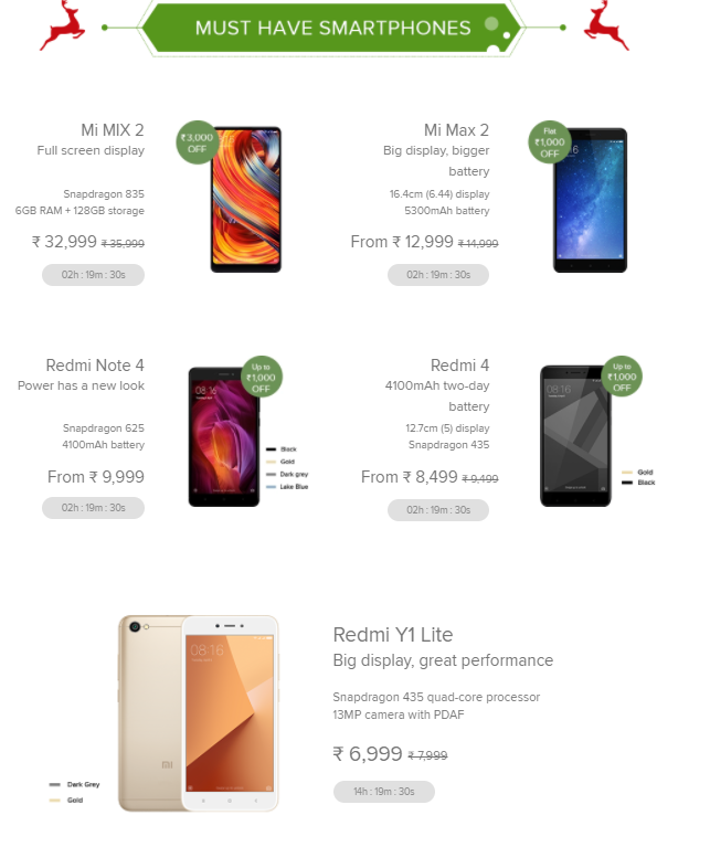 Xiaomi No.1 Mi Fan Sale: discounts on phones, Re. 1 flash sale and more 2
