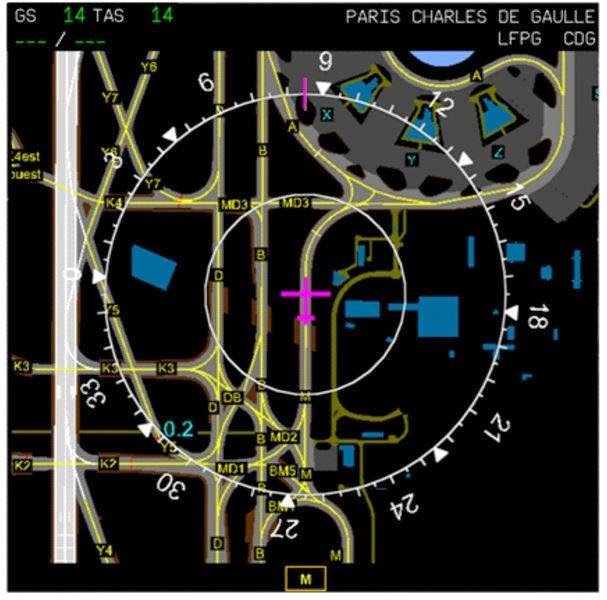 On-Board Airport Navigation System