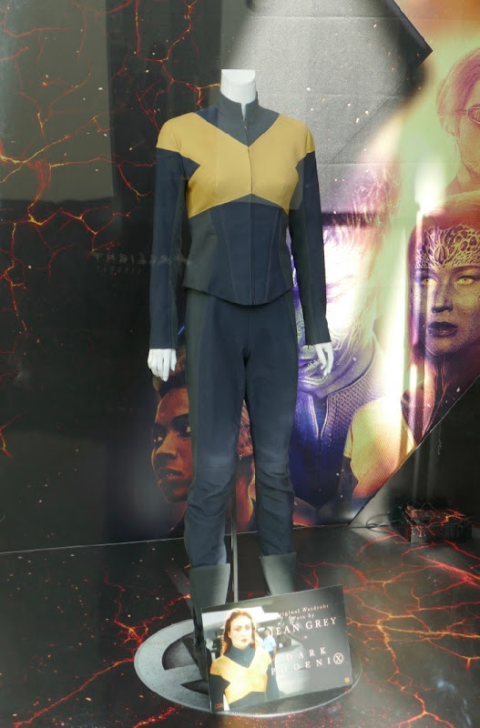 Sophie Turner Dark Phoenix Jean Grey X-Men uniform
