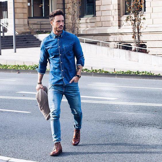 6b3a298993 Total jeans com Bota marrom <3 Dei Dicas para usar esse estilo All Jeans  por AQUI.