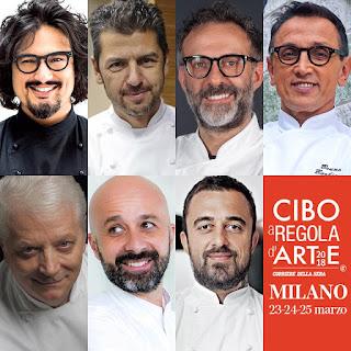 Cibo a Regola d'Arte Milano 2018