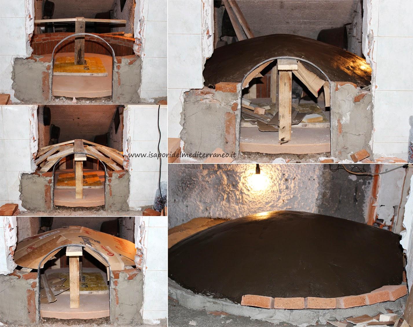 Come costruire il forno a legna tradizionale i sapori del mediterraneo - Costruire cappa cucina ...