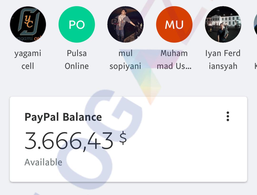 Jual Saldo Paypal $3500 via Bank Harga 50 Juta Rupiah Legal 100%