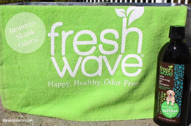 wash away pet and skunk odors naturally dog shampoo