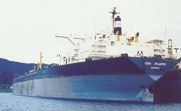 Kapal Esso Atlantic dengan ukuran terbesar