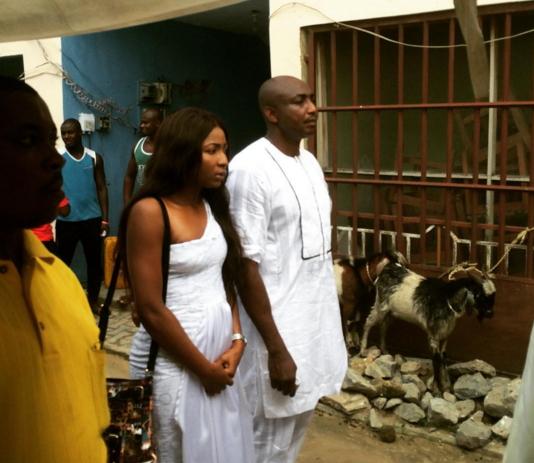 belinda effah father burial