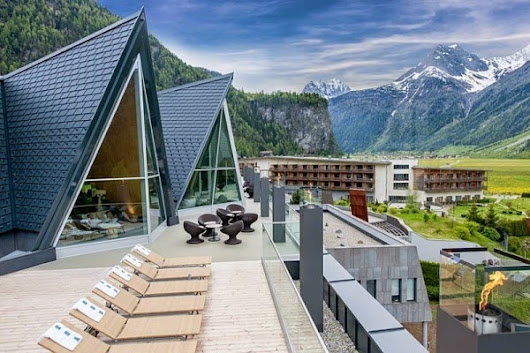 Impressive Aqua Dome Thermal Resort, Austria