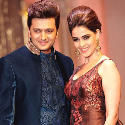 Ritesh and Genelia on an Event