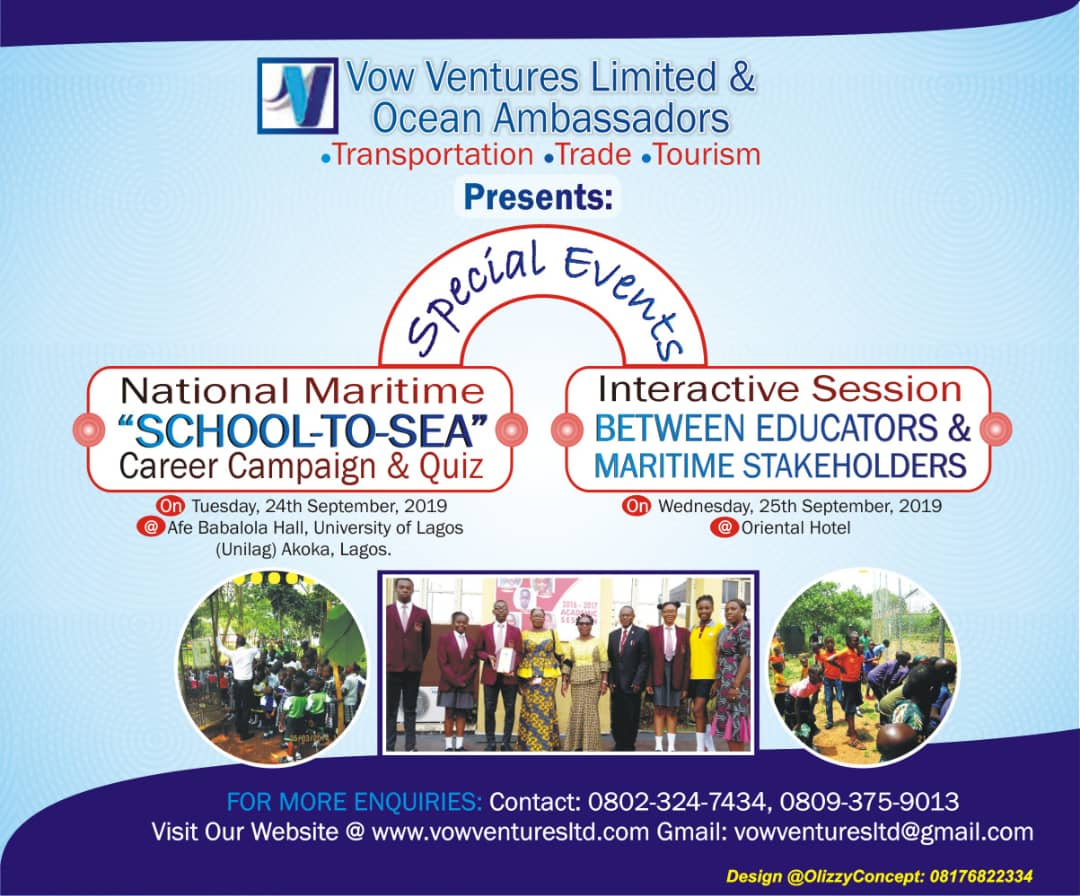 National Maritime 'School-To-Sea' Career Campaign & Quiz