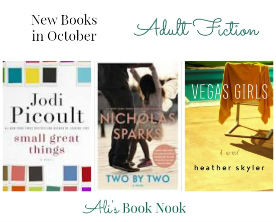 Hot New Books coming out in October by favorite authors