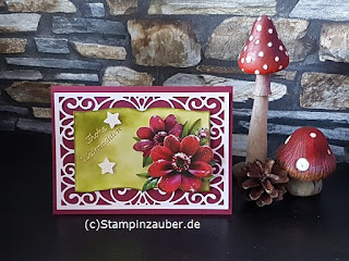(c) stampinzauber.de Silvi Provolija Weihnachtskarte