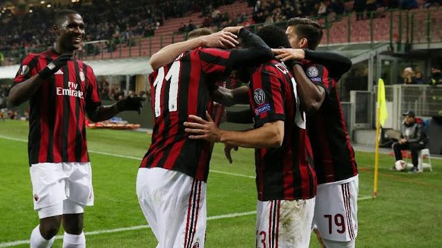 Liga Europa: Menang Tipis atas Ludogorets, Milan Maju ke Babak 16 Besar