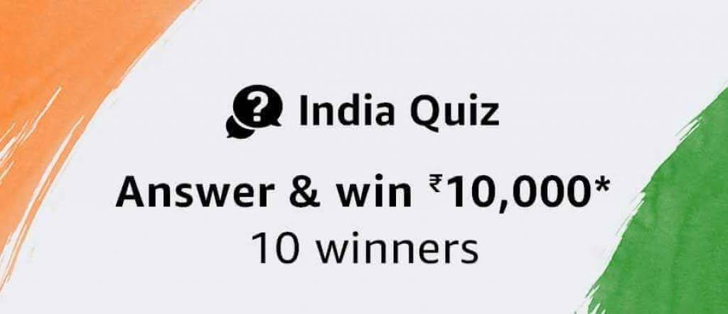 Questions and answers for quiz contest prizes