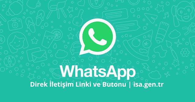 whatsapp direk iletişim linki