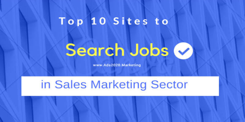 10 Best Sales Job Sites for Searching Sales Jobs Online ~ Ads2020