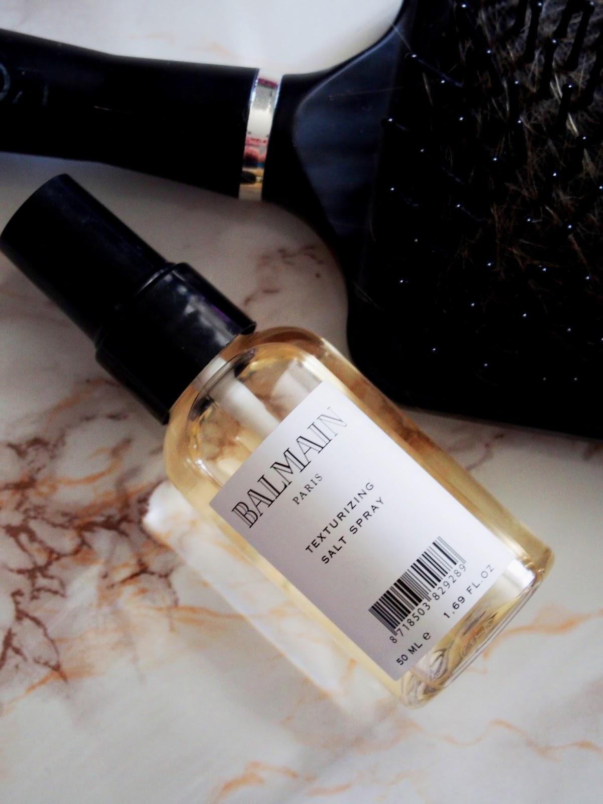 Balmain salt sparay suola suihke tuuheuttava harja brush hius hair