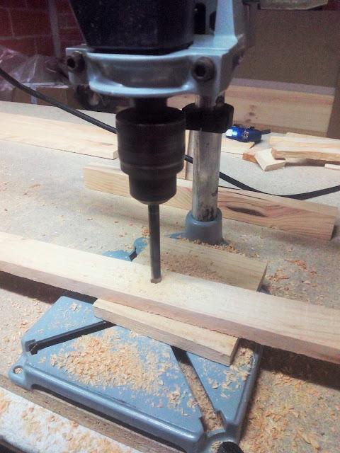 Arbol de madera paso a paso