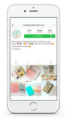 Instagram cumpliendometas_tur