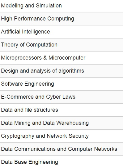 Computer Science Engineering Study Materials Lecture Notes