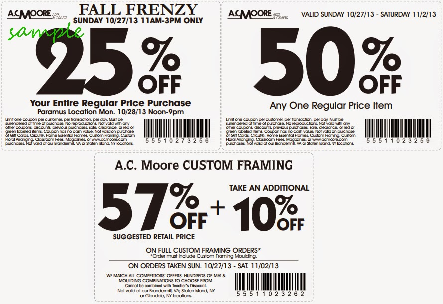 photograph about Ac Moore Printable Coupon identified as Printable coupon for ac moore arts and crafts / Portland
