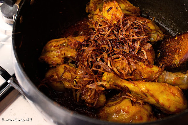 how to make Bangladeshi Biyebarir Murgir Roast recipe and preparation with step by step pictures