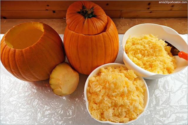 Proceso de Decoración de Calabazas por Halloween