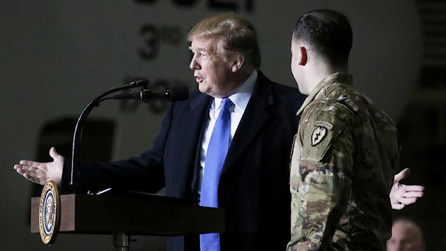 Reportan que Trump busca exigir a los aliados que paguen el 150% por la presencia de las tropas de EE.UU.