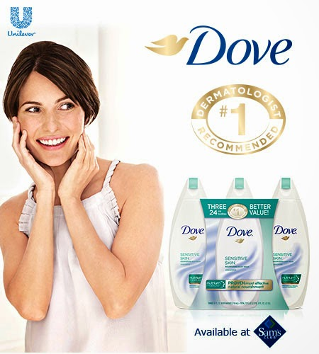 Stacy Talks Reviews Dove Sensitive Skin Body Wash Value Pack At Sam S Club Now