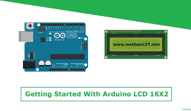JHD162A Arduino Lcd Display जो की Arduino family के लिए सबसे Cheap और Popular Display है