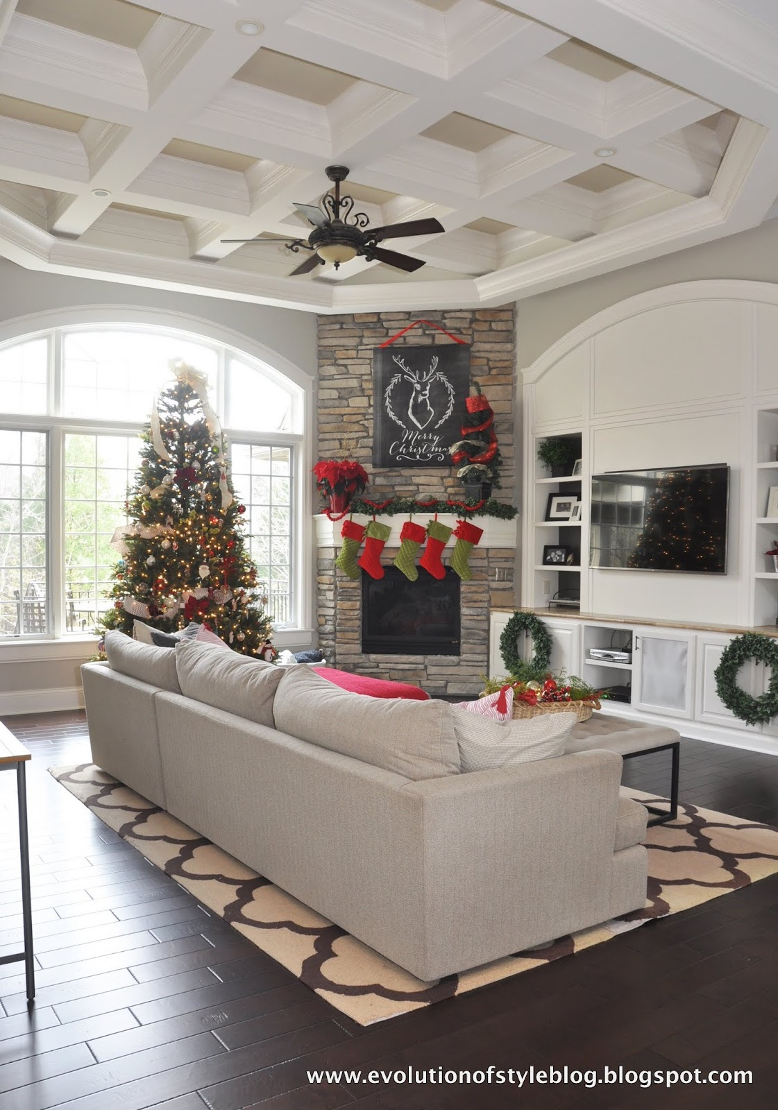 Day 1: 12 Days of Christmas Tour of Homes 2015 - Evolution of Style