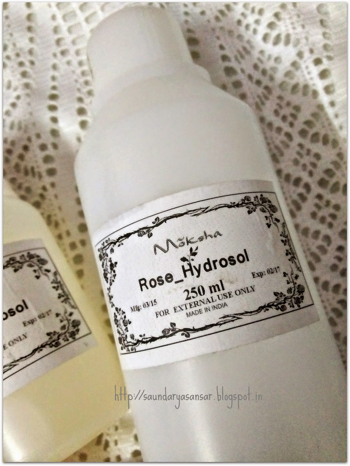 Pure Rose Water from Moksha