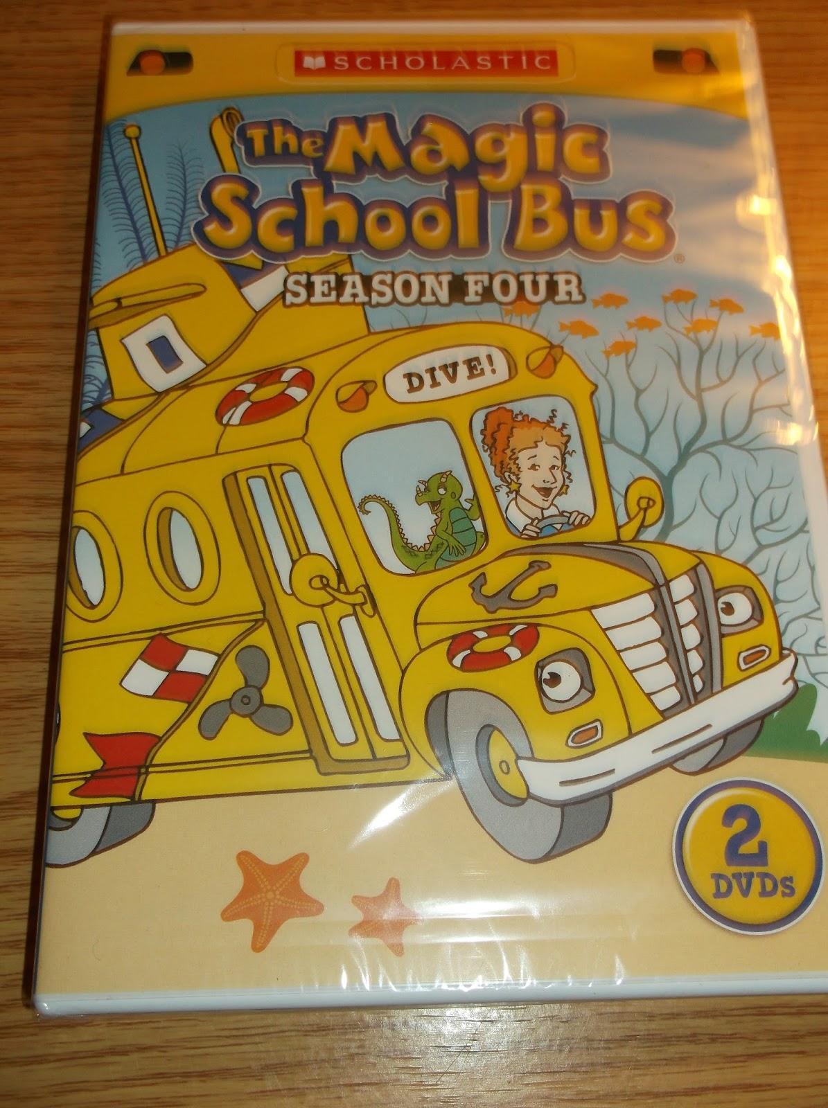 Missys Product Reviews The Magic School Bus Season Four