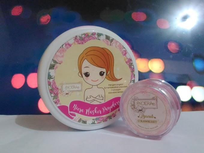 REVIEW: Noera Skincare, Lip Scrub & Masker Payudara