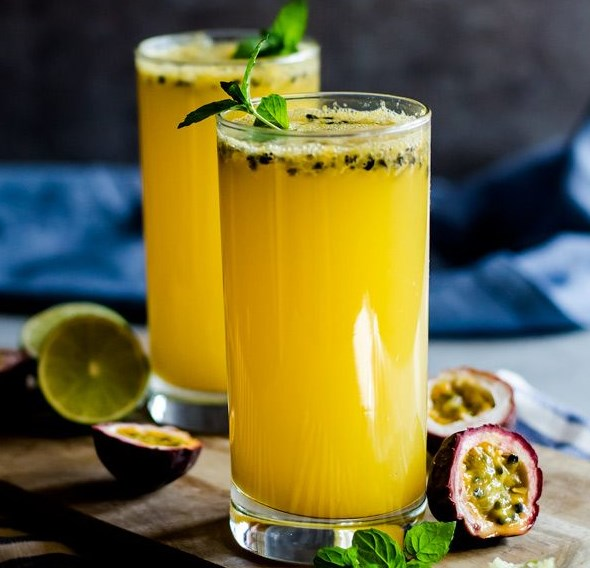 PASSION FRUIT MOJITO #drink #cocktail