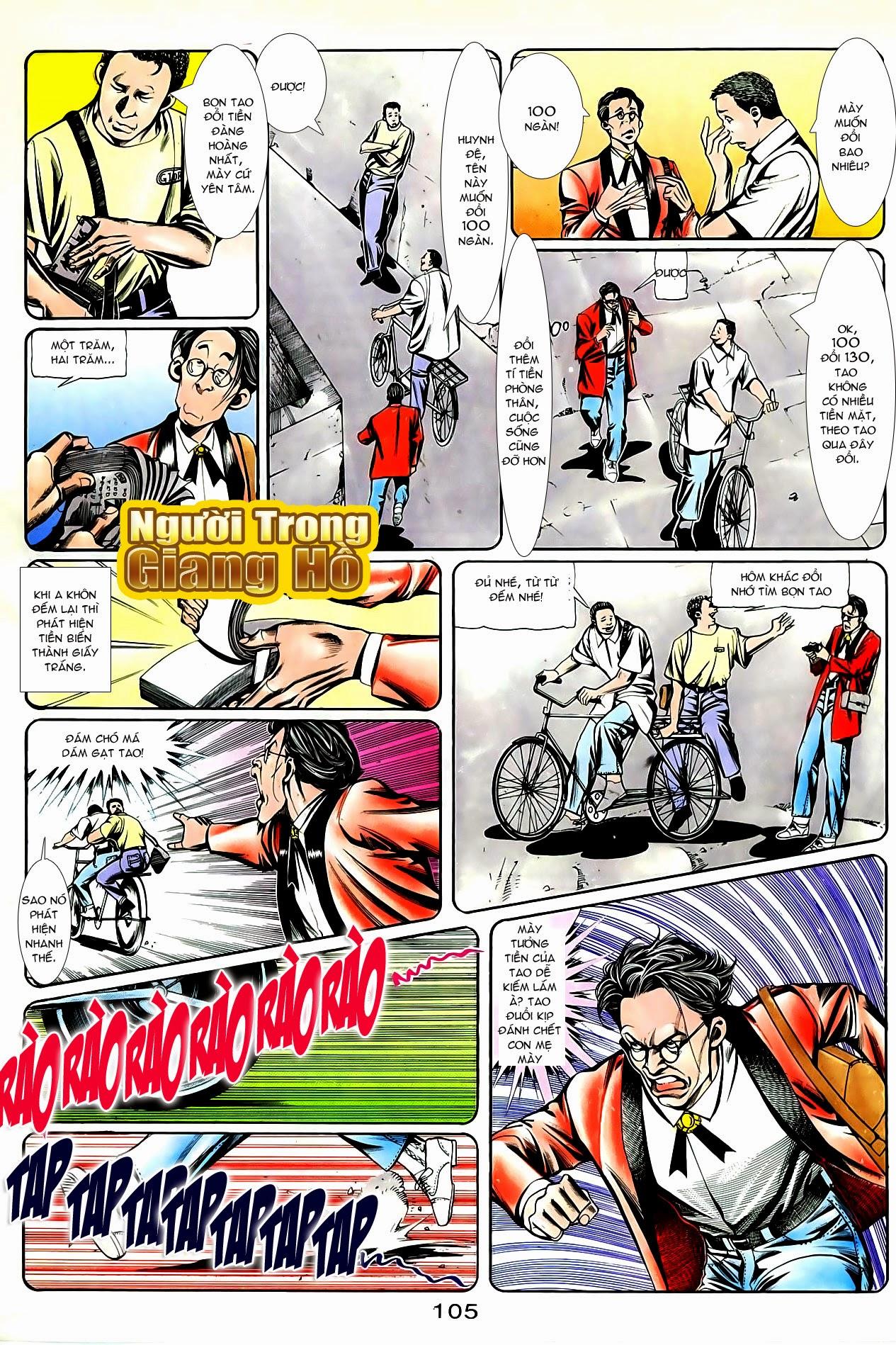 Người Trong Giang Hồ chapter 87: chống lưng của a khôn trang 19