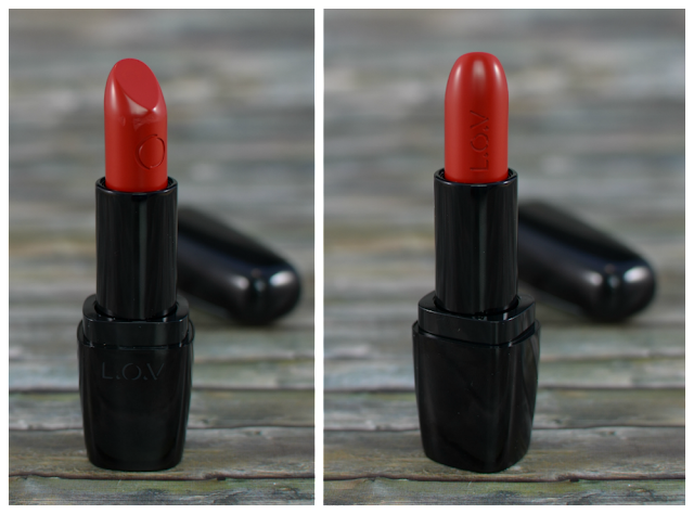L.O.V lipaffair color & care lipstick 551 Christina's Red