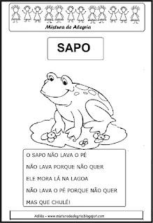 Folclore - parlenda o sapo