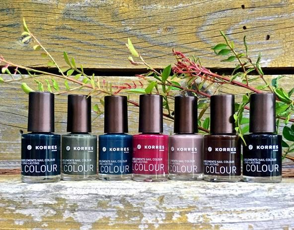 Korres Nail Colour Limited Edition Collection Fall 2015