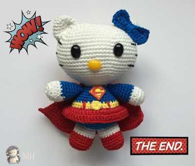 Hello kitty superwoman