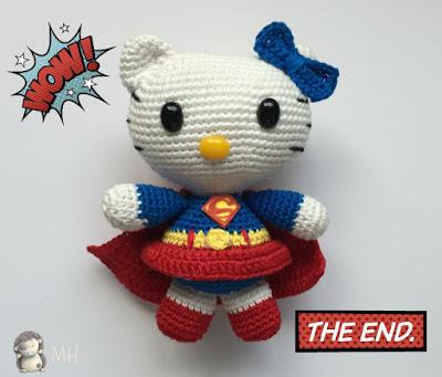 Hello kitty superwoman
