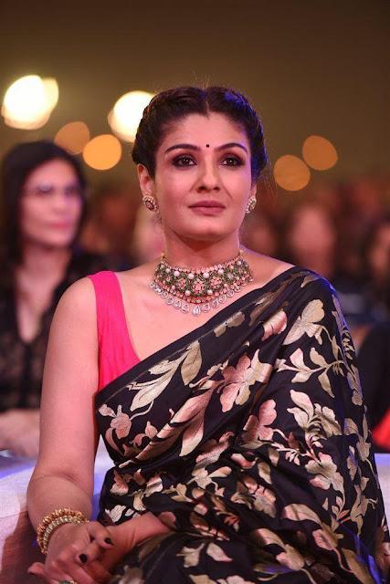 Raveena Tandon Kundan Diamond Jewelry