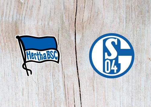 Hertha Berlin vs Schalke 04  - Highlights 25 January 2019