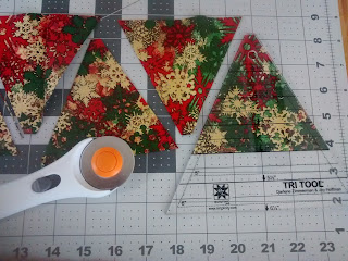 ProsperityStuff Christmas Tree Triangles with Tri-Recs ruler tool