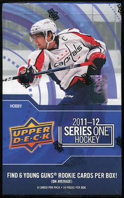 2011-12 Upper Deck Series 1 - Box Break #3