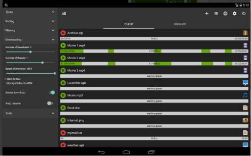 Aplikasi Mirip IDM di Android: Advanced Download Manager Pro APK