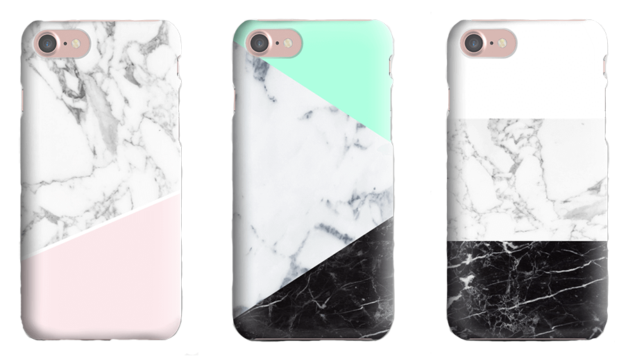 CaseApp Custom iPhone Case Marble