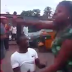 Photos of woman who slaps & disgraces man begging her on the road in Enugu...